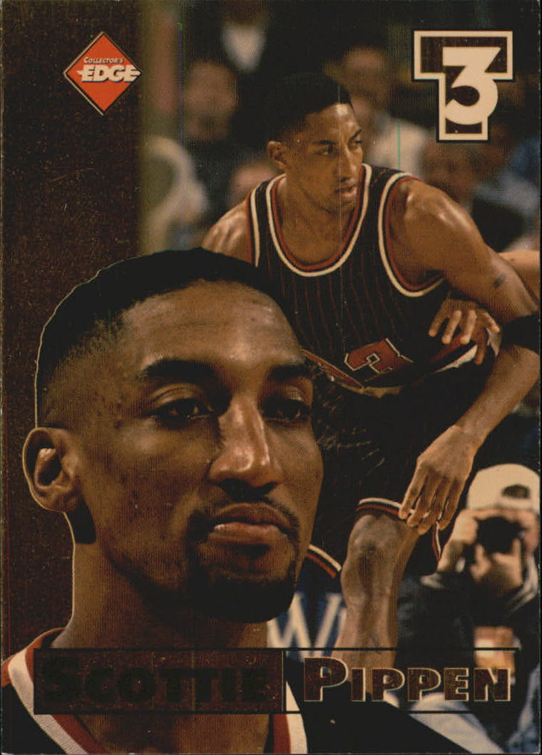 1998 Collector's Edge Impulse T3 #4 Scottie Pippen G