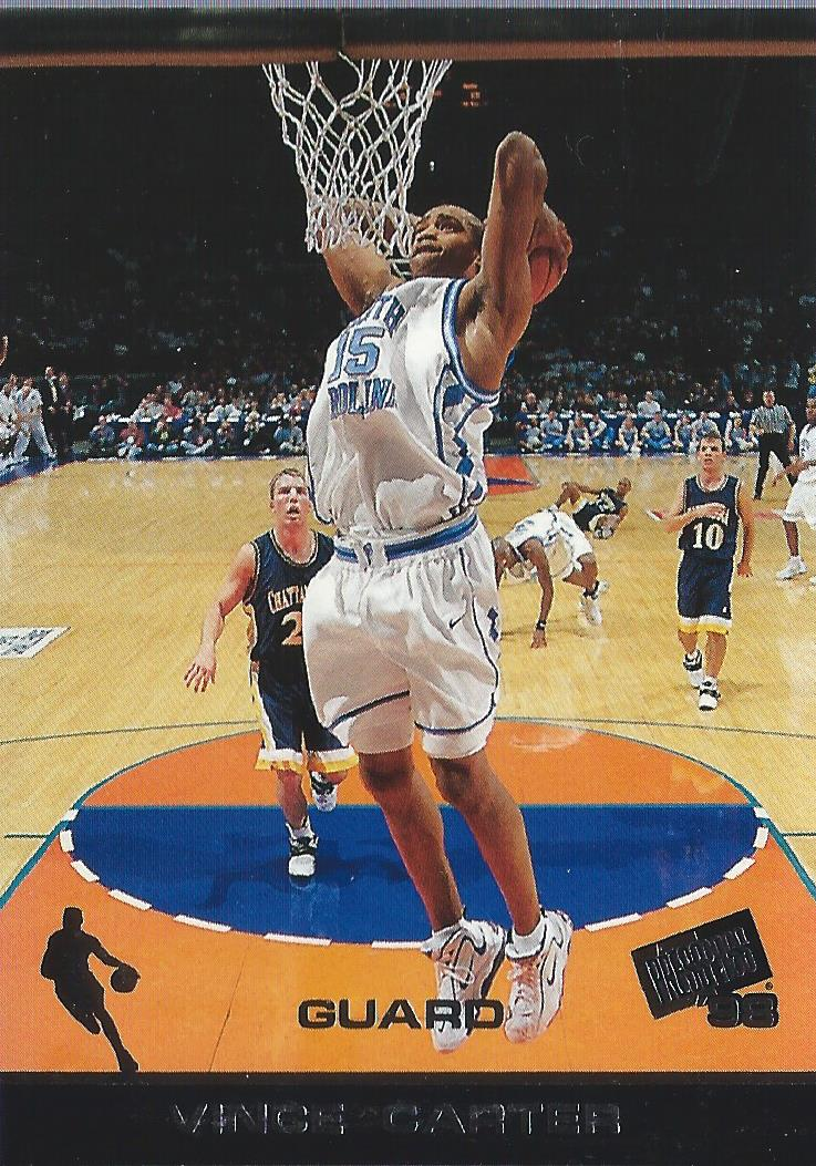 1998 Press Pass #4 Vince Carter