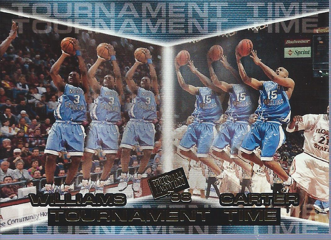 1998 Press Pass #41 Shammond Williams/Vince Carter