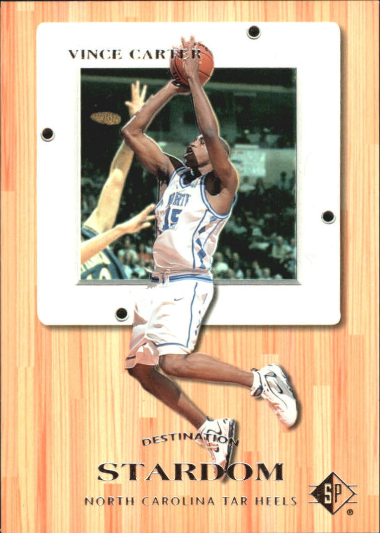 1998 SP Top Prospects Destination Stardom #2 Vince Carter