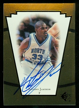 1998 SP Top Prospects Vital Signs #AJ Antawn Jamison
