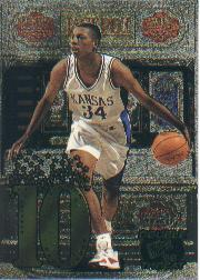 1998 Press Pass Double Threat Jackpot #J4B Paul Pierce
