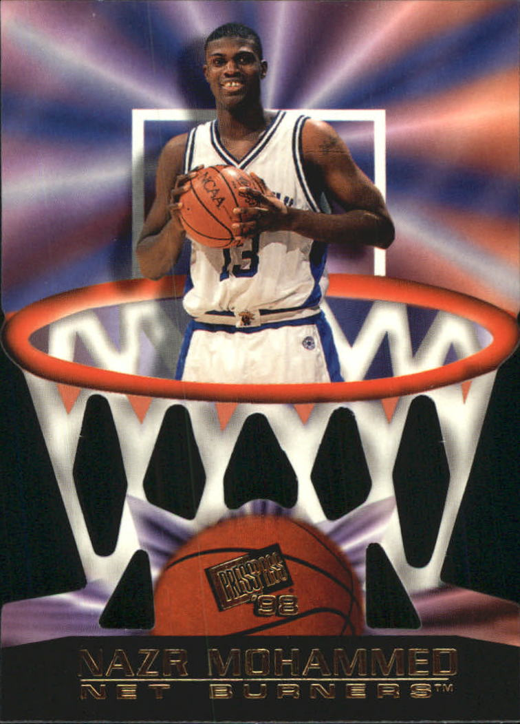 1998 Press Pass Net Burners #2 Nazr Mohammed