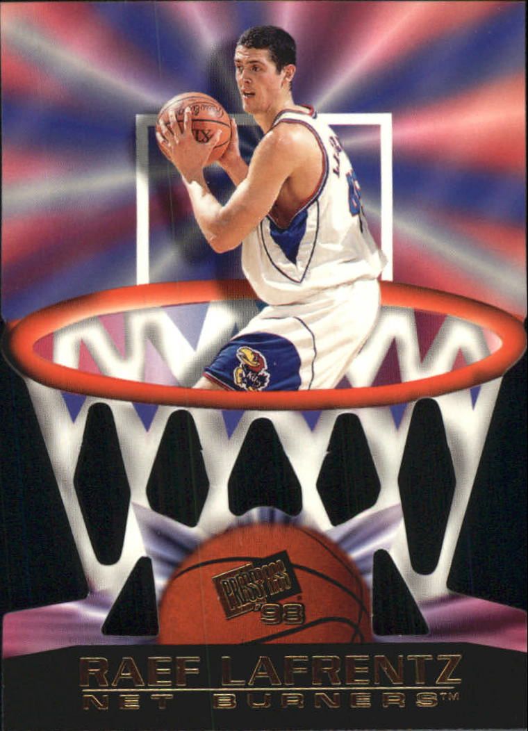 1998 Press Pass Net Burners #3 Raef LaFrentz