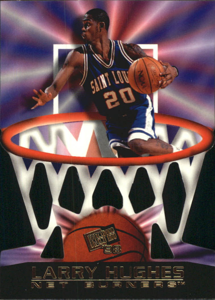 1998 Press Pass Net Burners #7 Larry Hughes