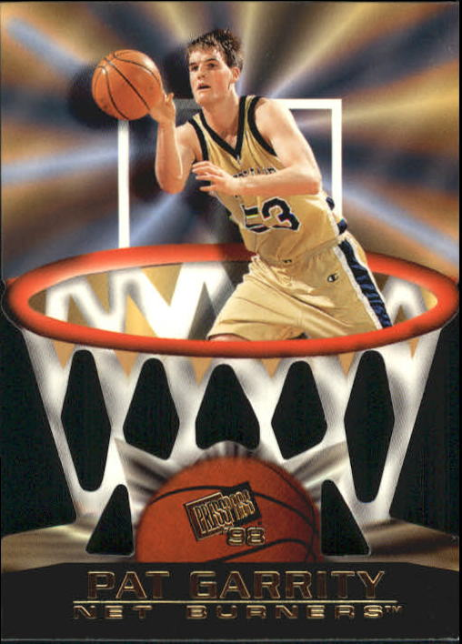 1998 Press Pass Net Burners #11 Pat Garrity