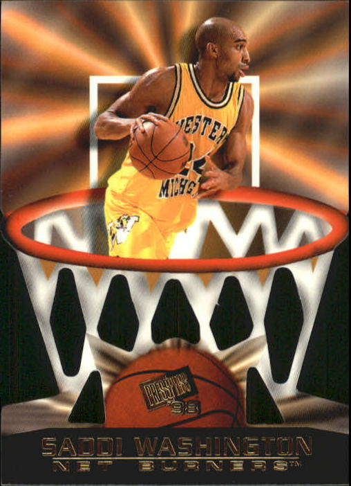 1998 Press Pass Net Burners #12 Saddi Washington