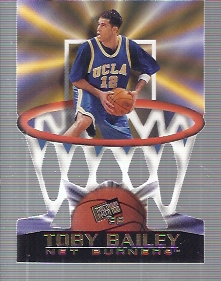 1998 Press Pass Net Burners #14 Toby Bailey