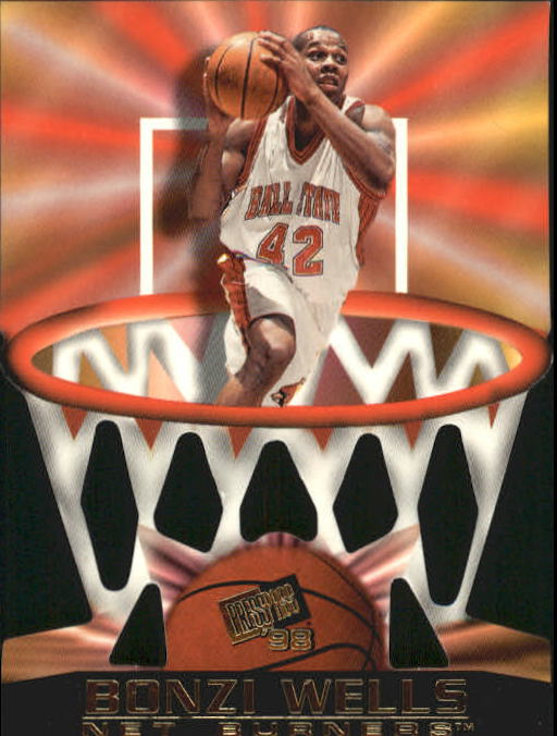 1998 Press Pass Net Burners #15 Bonzi Wells