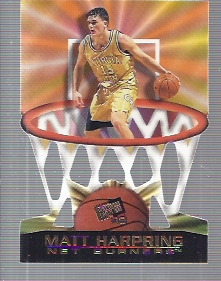 1998 Press Pass Net Burners #17 Matt Harpring