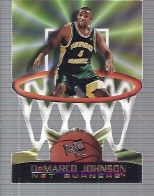 1998 Press Pass Net Burners #21 DeMarco Johnson