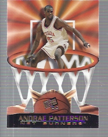 1998 Press Pass Net Burners #22 Andrae Patterson