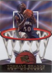 1998 Press Pass Net Burners #24 Torraye Braggs