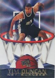 1998 Press Pass Net Burners #30 Tim Duncan