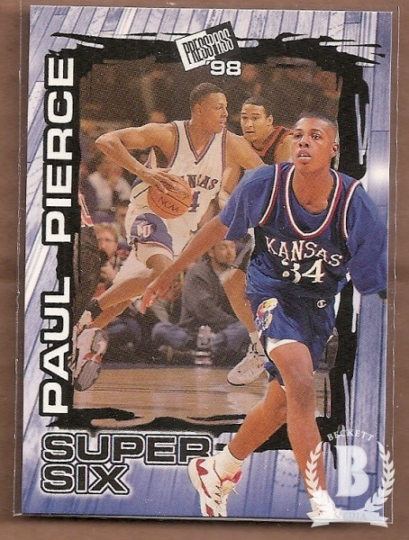 1998 Press Pass Super Six #S5 Paul Pierce