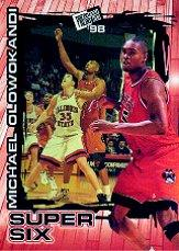 1998 Press Pass Super Six #S6 Michael Olowokandi