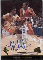 1998 Press Pass Autographs #19 Mike Jones