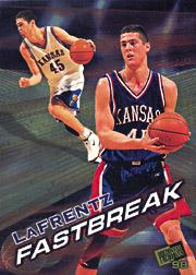 1998 Press Pass Fastbreak #FB1 Raef LaFrentz