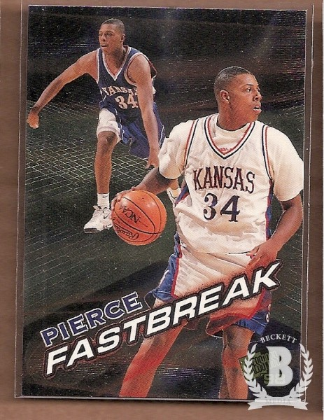 1998 Press Pass Fastbreak #FB5 Paul Pierce