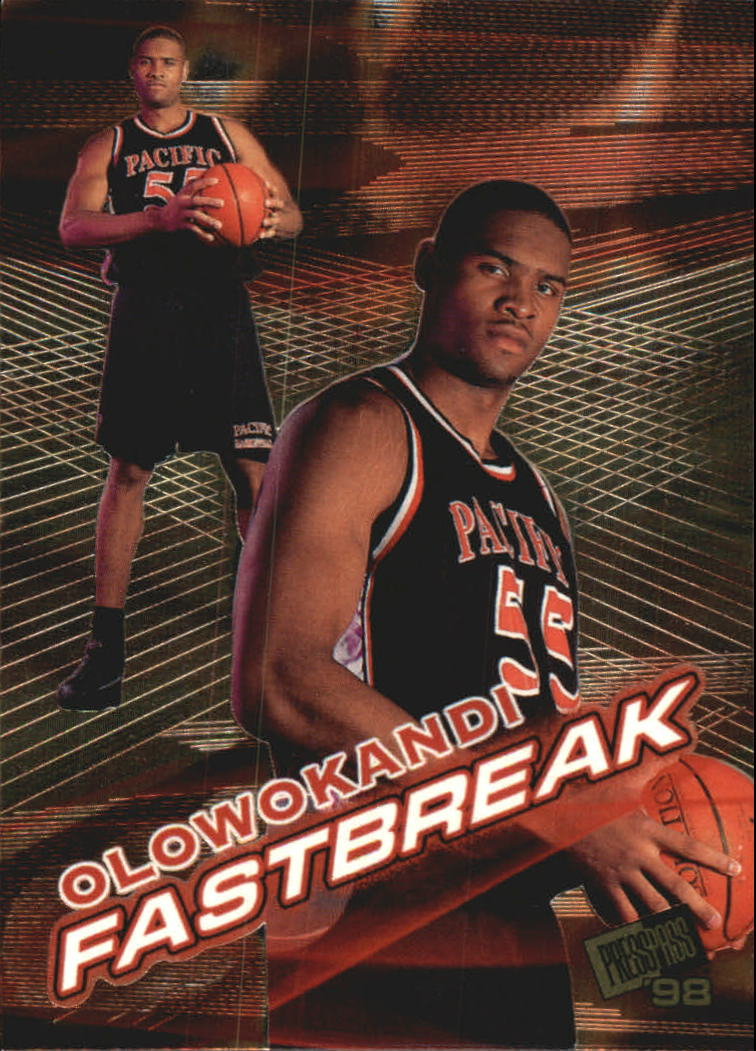 1998 Press Pass Fastbreak #FB6 Michael Olowokandi
