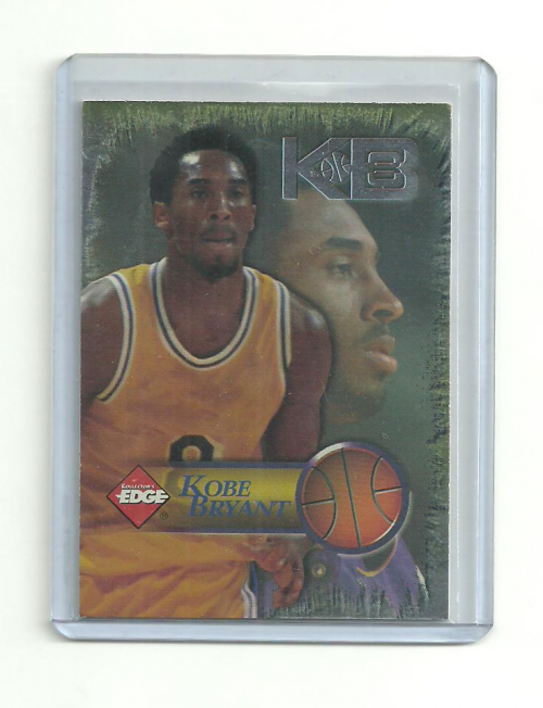 1998 Collector's Edge Impulse KB8 Silver #4 Kobe Bryant