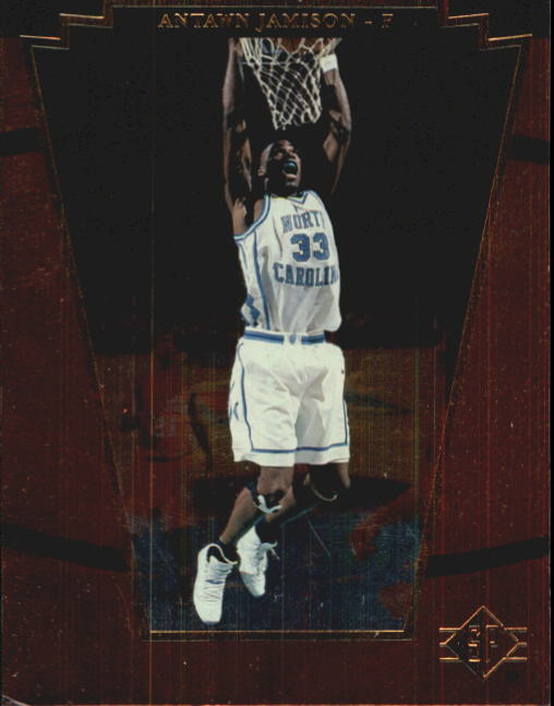 1998 SP Top Prospects #1 Antawn Jamison