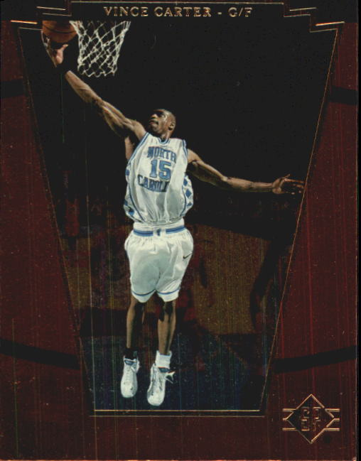 1998 SP Top Prospects #2 Vince Carter