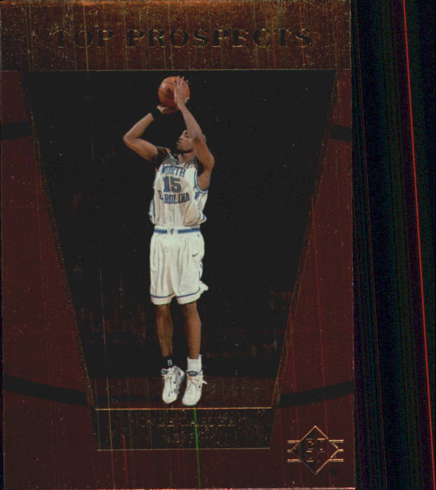 1998 SP Top Prospects #42 Vince Carter TP