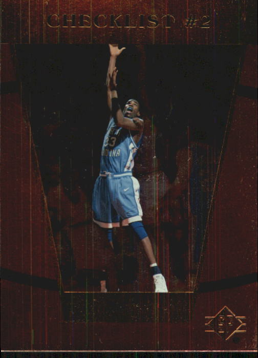 1998 SP Top Prospects #62 Antawn Jamison CL