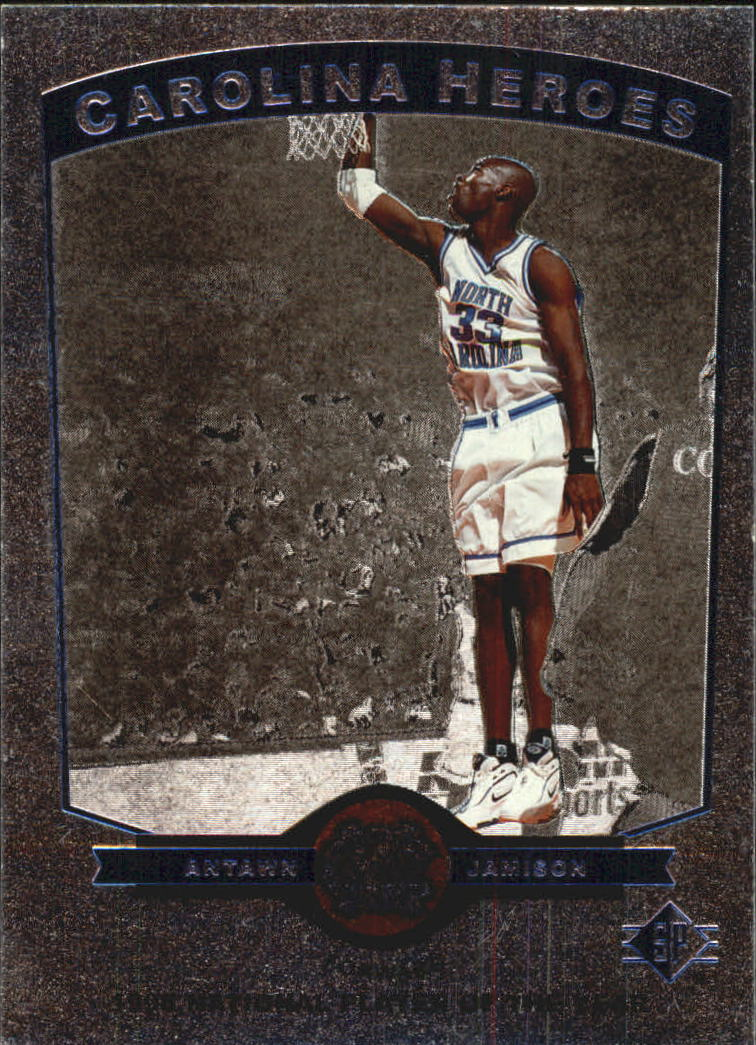 1998 SP Top Prospects Carolina Heroes #H5 Antawn Jamison