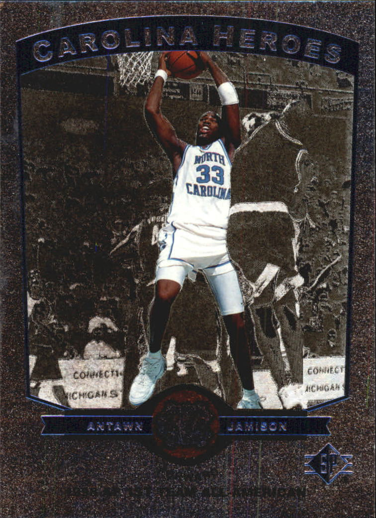 1998 SP Top Prospects Carolina Heroes #H6 Antawn Jamison