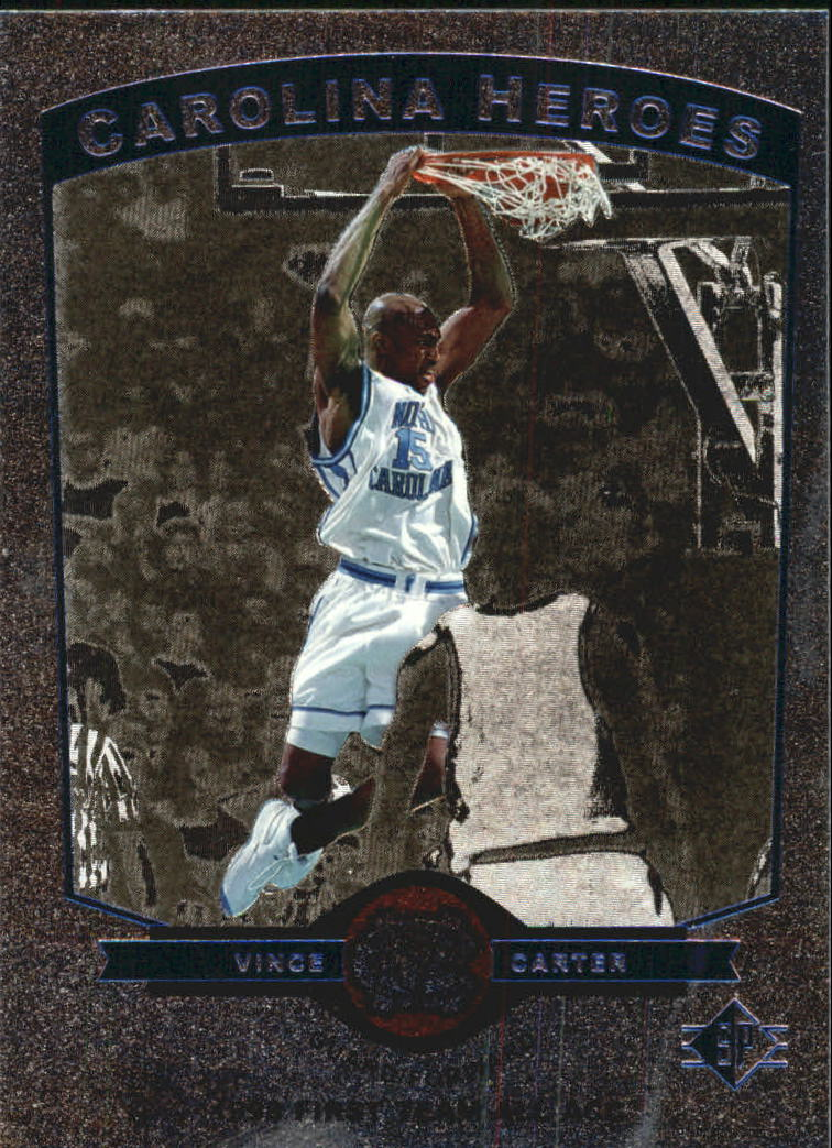1998 SP Top Prospects Carolina Heroes #H8 Vince Carter