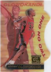 1998 Press Pass Double Threat Two-On-One #TO4 Michael Olowokandi
