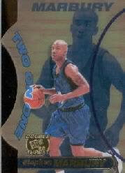 1998 Press Pass Double Threat Two-On-One #TO9 Stephon Marbury