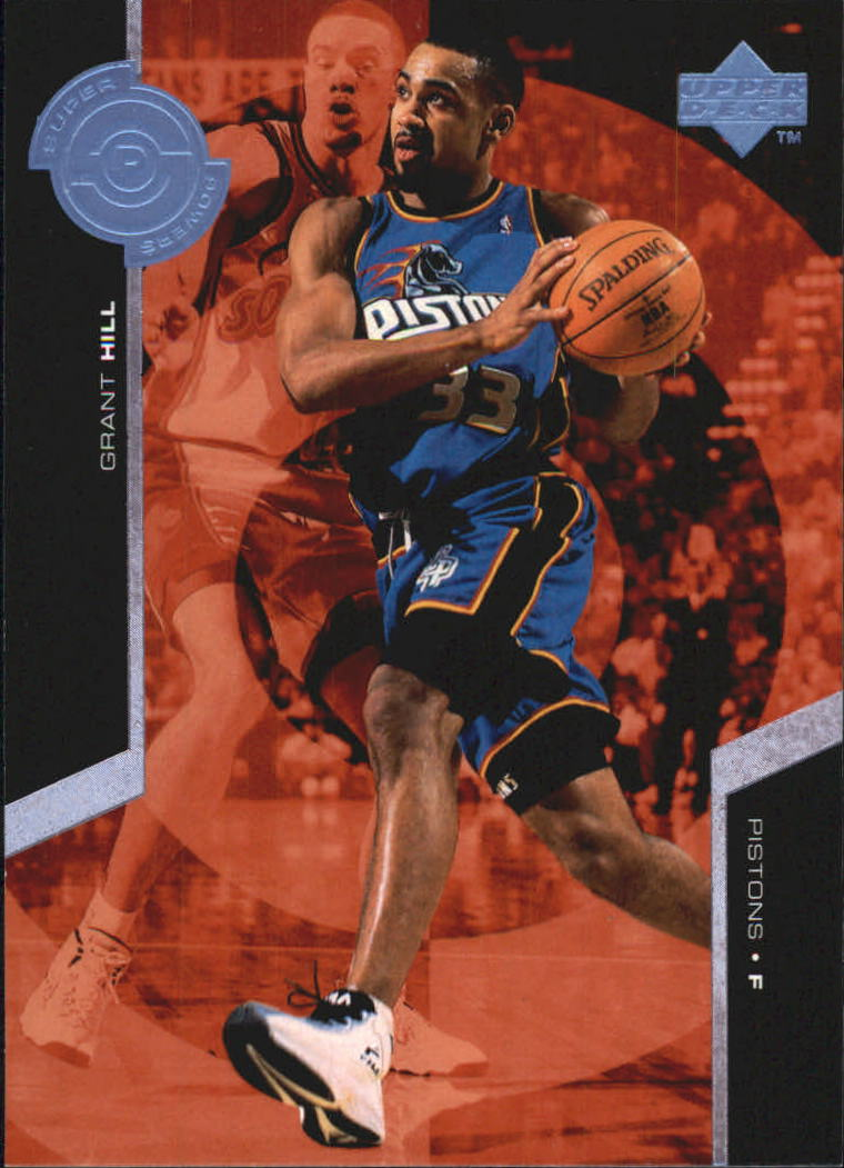 1998-99 Upper Deck Super Powers #S8 Grant Hill