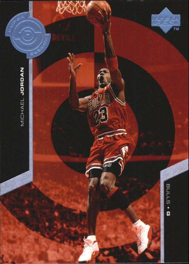 1998-99 Upper Deck Super Powers #PS30 Michael Jordan front image