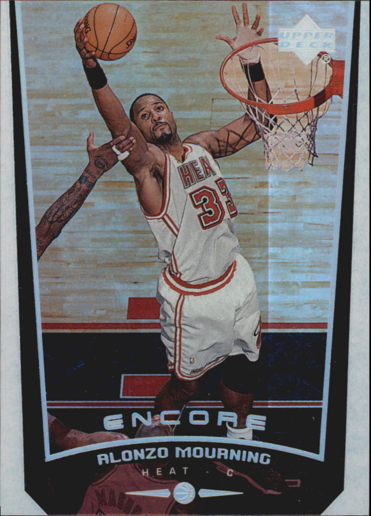 1998-99 Upper Deck Encore #44 Alonzo Mourning