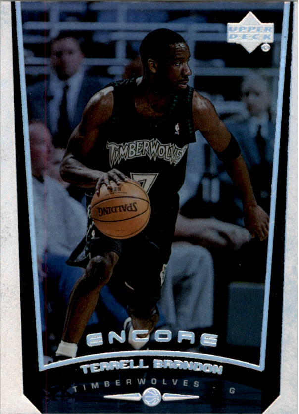 1998-99 Upper Deck Encore #50 Terrell Brandon