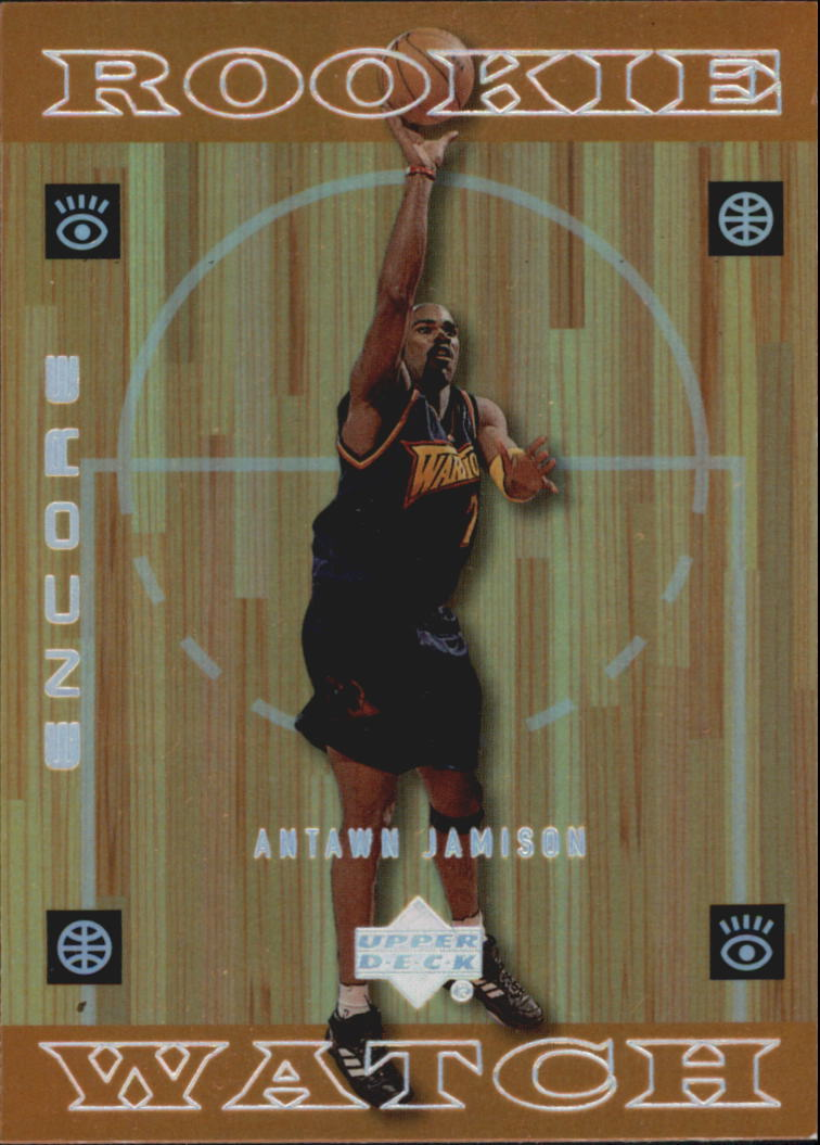 1998-99 Upper Deck Encore #117 Antawn Jamison RC