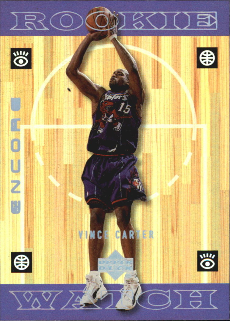 1998-99 Upper Deck Encore #118 Vince Carter RC