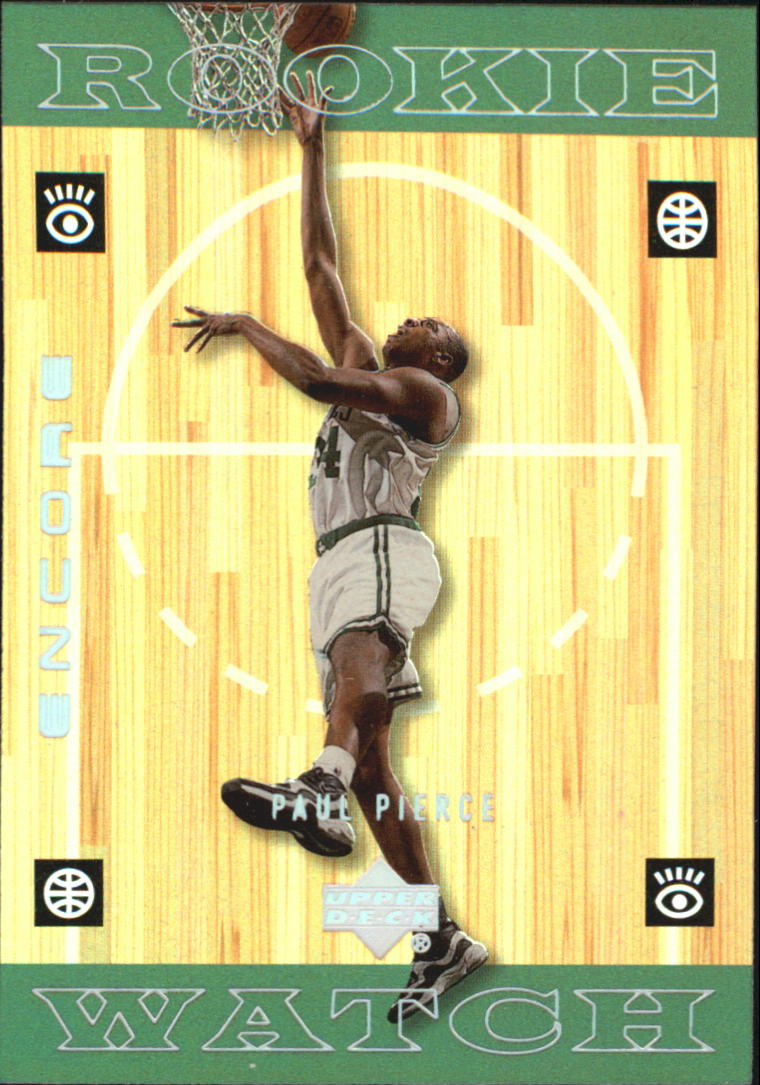 1998-99 Upper Deck Encore #123 Paul Pierce RC
