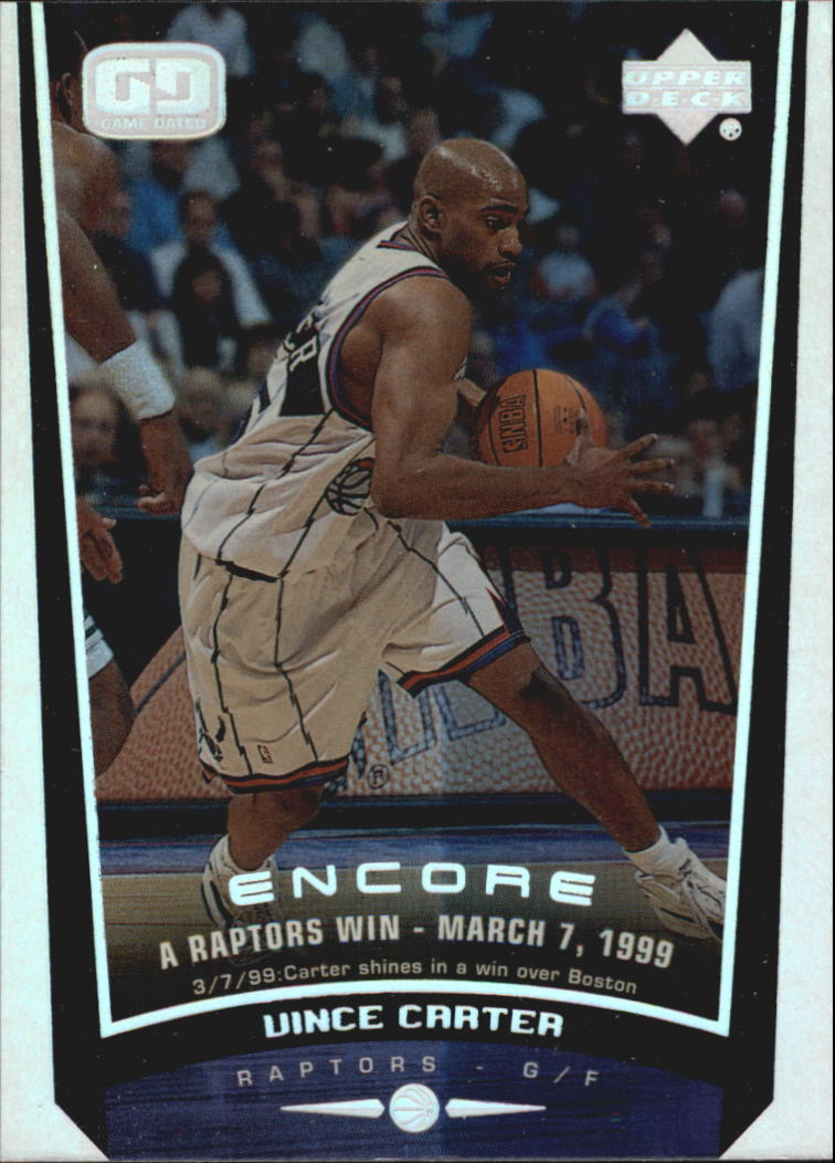 1998-99 Upper Deck Encore #146 Vince Carter BON