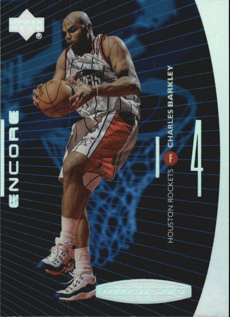 1998-99 Upper Deck Encore Intensity #I15 Charles Barkley