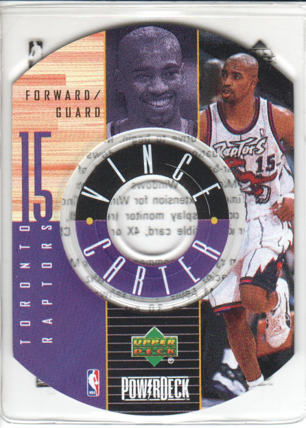 1998-99 Upper Deck Encore PowerDeck #3 Vince Carter