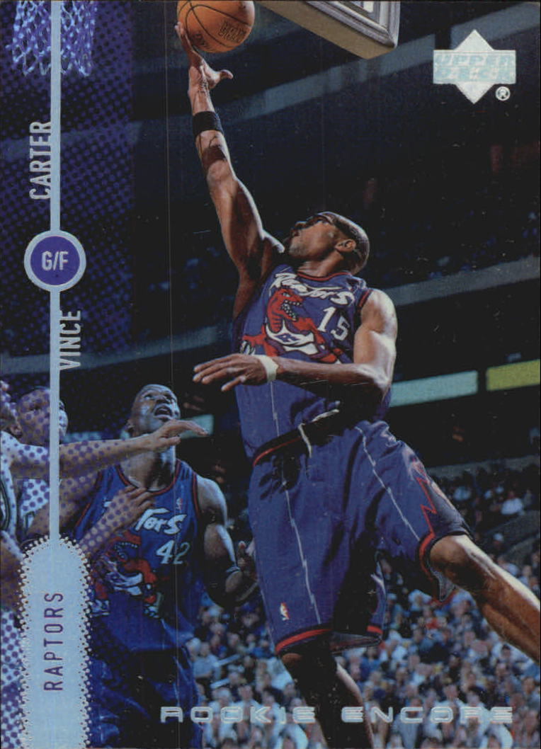 1998-99 Upper Deck Encore Rookie Encore #RE10 Vince Carter