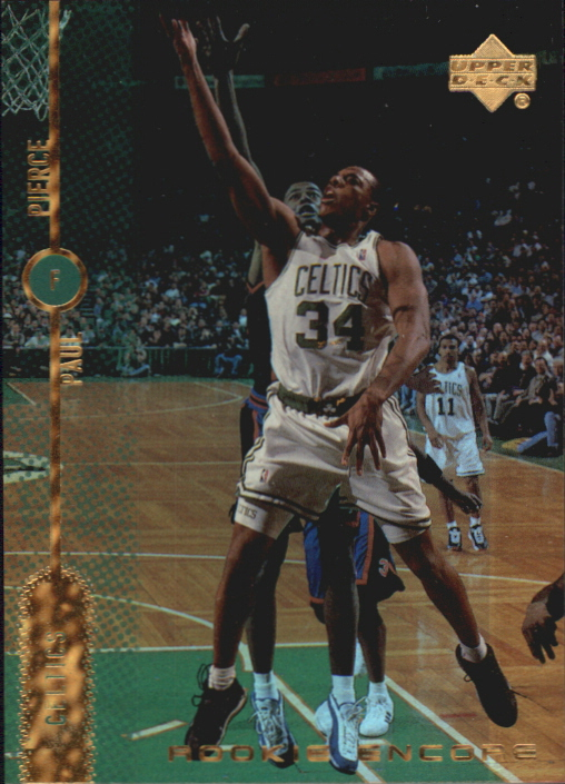 1998-99 Upper Deck Encore Rookie Encore F/X #RE3 Paul Pierce