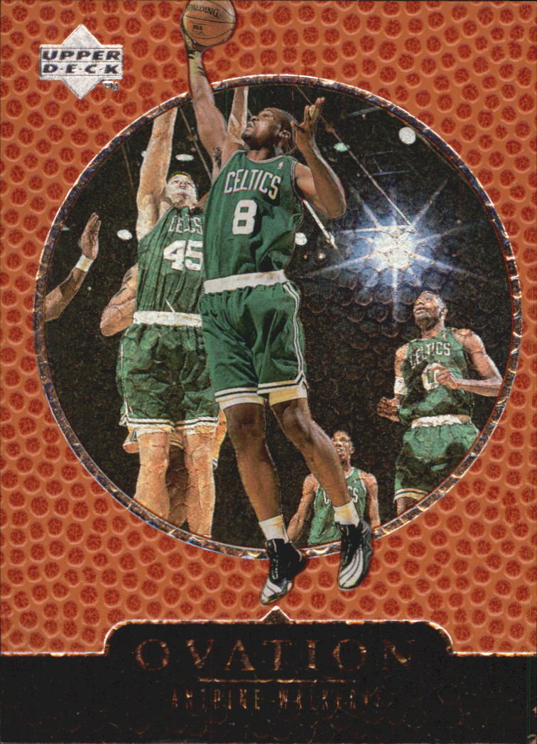 1998-99 Upper Deck Ovation #3 Antoine Walker