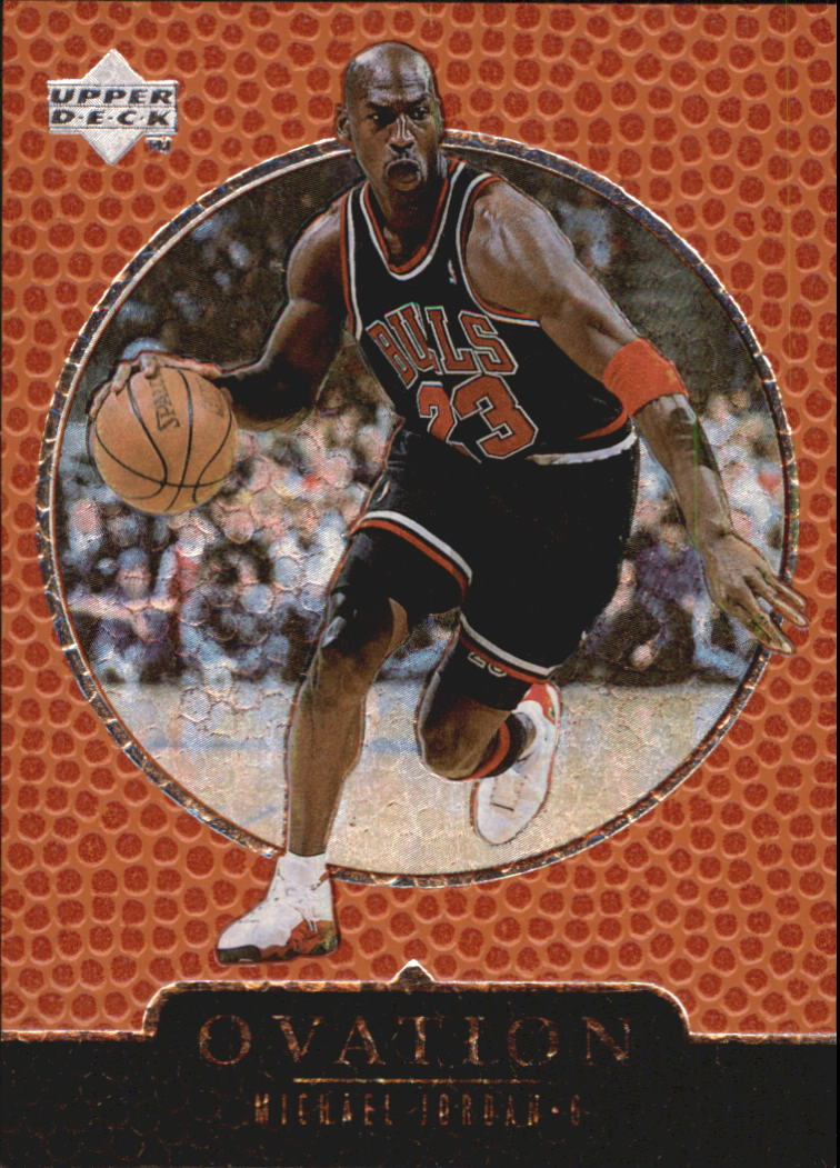 1998-99 Upper Deck Ovation #7 Michael Jordan