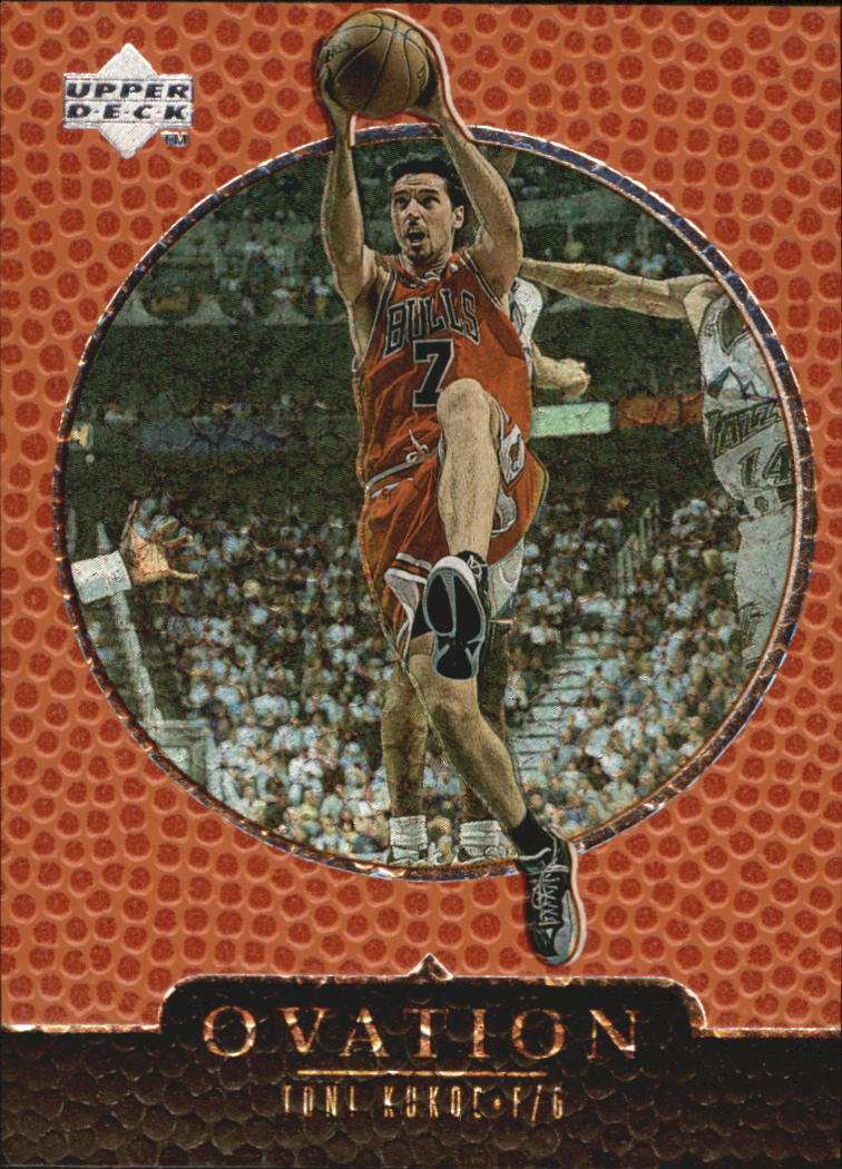 1998-99 Upper Deck Ovation #8 Toni Kukoc