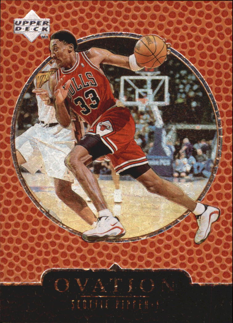 1998-99 Upper Deck Ovation #10 Scottie Pippen
